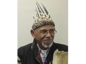 Chief Hennie van Wyk encourages learning Khoe Khoe language. Pic by Yazeed Kamaldien